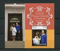 Bequia Grenadines St Vincent 2015 MNH Princess Charlotte Birth Royal Baby 1v S/S
