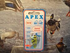 "Apex Hot Spot Trout Salmon 2"" Fishing Lure 424T NEVER OPENED"