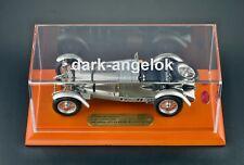 1:18 CMC M-087 Mercedes-Benz SSKL Mille Miglia 1931+Vitrine+Holzplatte 15 Jahre