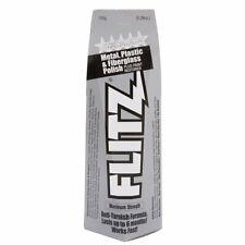 Flitz Paste Polish for Metal, Plastic, & Fiberglass, Large Tube, 150g #BU03515