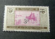 Mauritania Stamp Scott# 62 Crossing Desert 1927 MH  L298