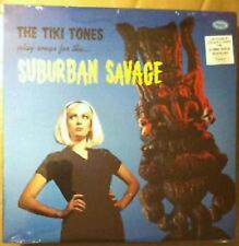 TIKI TONES 'Suburban Savage LP NEW Fathoms Shadows Ventures phantom surfers surf