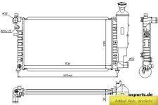 Kühler, Motorkühlung PEUGEOT 106 I (1A, 1C) 1.6
