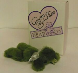 Mintbeary Slush 7in Annette Funicello Green Mohair plush teddy bear new in box
