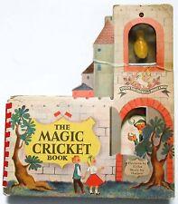1948 MAGIC CRICKET BOOK - w/clicker - super rare!
