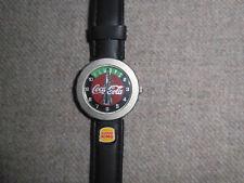 Armbanduhr Uhr Coca Cola Burger King schwarzes Orig. Uhren Armband  Neu ungetrag