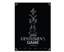 Gentlemen's Game Monograph by 2PM The Limited Edition (Photobook+DVD)