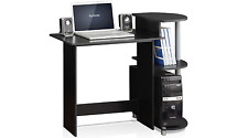 Furrino Space Saving Mini Bedside Best Computer Tower Desk For Small Home Office