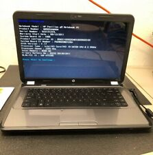 HP Pavilion G6 NoteBook-i5-2410M @ 2.30GHz 4GB Ram No HDD Win 7 Prem Key (01924)
