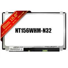 """NT156WHM-N32 LCD Screen Glossy HD 1366x768 Display 15.6"""" UJSMK"""