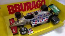 BURAGO GRAND PRIX 1:24 AUTO DIE CAST BURAGO RACING GRIGIO ART 6109