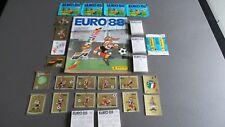 Panini Euro EM 88 1988 – KOMPLETTSATZ COMPLETE SET  FULL SET + EMPTY ALBUM RARE