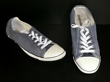 Converse Chucks Lo Light grau Gr 41 Slim Accustic used Turnschuhe Girly sexy