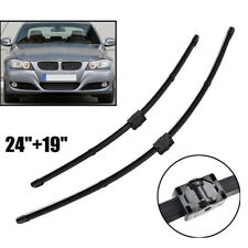 Pair Front Wiper Blades Set For BMW 328I 335I 325i 330i E90 2005-2009