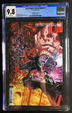 Dark Nights Death Metal 7 CGC 9.8 1:25 1st Yara Flor Next Batman DC 2021 Mahnke