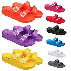 Ladies & Girls Slip On Flip Flop Summer Sandals Size 3 to 8 UK BEACH POOL CASUAL