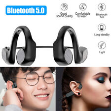 New listing Bone Conduction Wireless Bluetooth 5.0 Open-Ear Outdoor Sports Driving Headset.