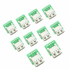 10PCS Type A Female USB To DIP 2.54MM PCB Board Adapter Converter Arduino