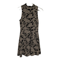 Forever 21 Womens Dress Fit and Flare A Line Sleeveless Work Ladies Size Small