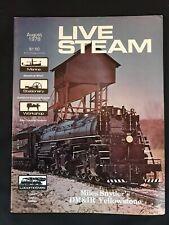 Live Steam Magazine August 1978