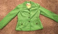 **VERY NICE** David Brooks LADIES/WOMEN'S COAT/JACKET~~KELLY GREEN~~Small