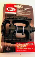 Bell-Kicks 350- Universal Bicycle Pedal Set- Fits 1/2'' & 9/16'' Lot#B101