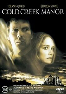 Cold Creek Manor (DVD, 2004) Region 4 Dennis Quaid, Sharon Stone/ RARE OOP