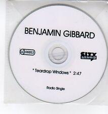 (DQ400) Benjamin Gibbard, Teardrop Windows - DJ CD