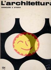 L'ARCHITETTURA [154/1968] FULL INDEX INSIDE