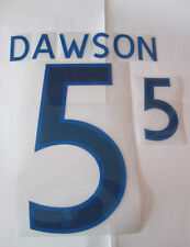Dawson no 5 England Home Football Shirt Name Set Adult Sporting ID