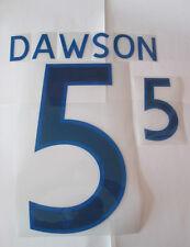 Dawson no 5 England Home Football Shirt Name Set Adult Sporting ID