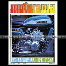 MOTORAMA N°27 ★ IJ 350 JUPITER 3 ★ FANTIC MOTOR 50 TI ★ DAYTONA 1973