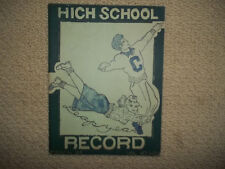"1948 CAMDEN HIGH NJ HIGH SCHOOL high school ""Record"" Magazine!! Rare find."