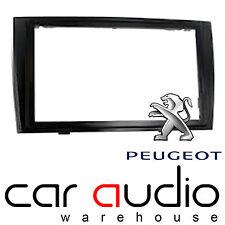 DFP-04-06/PB Peugeot 308 SW 2007> Car Stereo PIANO BLACK Double Fascia Panel