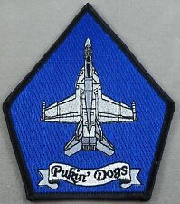"""US Navy Patch Fighter Squadron 143 / VF-143 """" Pukin' Dogs """""""