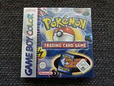 Pokémon Trading Card Game (Nintendo Game Boy Color, 2000) NUOVO FACTORY SEALED