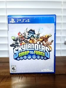 Skylanders Swap Force Video Game for PS4 (PlayStation 4, 2013) DISC & BOX ART
