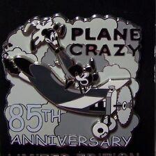 Disney Pin Plane Crazy 85th Anniversary Mickey Minnie