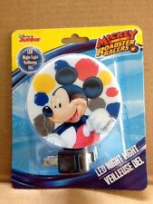 """DISNEY """"MICKEY MOUSE"""" & THE ROADSTER RACERS PLUG IN LED NIGHT LIGHT"""