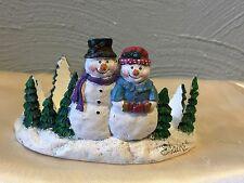 Christmas Snowman Candle Holder Decoration - New Creative Enterprises Inc.