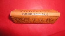 WW2 PAQUET DE FEUILLES A CIGARETTES ROLLING PAPER RIZ LACROIX AUTOMATIQUE 134