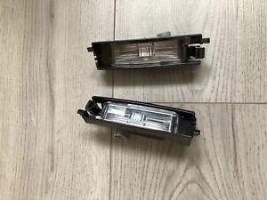 TOYOTA AYGO / Citroen C1 / Peugeot 108 2014-2020 REAR NUMBER PLATE LIGHTS