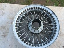 Classic car wheel rim with spokes