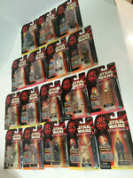 Star Wars Episode I Phantom Menace 18-Action Figure Lot Hasbro (READ LISTING)