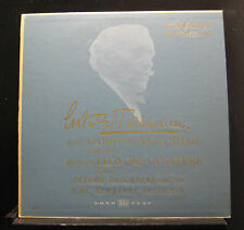 Toscanini - Ravel Daphnis & Chloe Beethoven No. 2 LP VG+ LM-1043 USA 1950 RCA