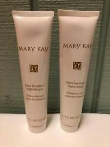 Mary Kay Extra Emollient Night Cream Moisturizer - #4258 - NEW - OLD Stock