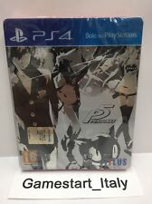 PERSONA 5 STEELBOOK EDITION SONY PS4 NUOVO NEW SEALED PAL VERSIONE ITALIANA