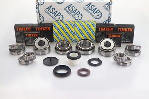 Vauxhall & Opel Movano Vivaro PF6 Gearbox Timken Bearing & Oil Seal Rebuild Kit