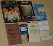 ULTIMA IV 4 Quest of the Avatar ~ Commodore Amiga ~ BIG box/COLLECTIBLE, english
