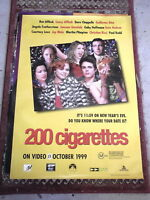200 CIGARETTES  1 SHEET MOVIE POSTER